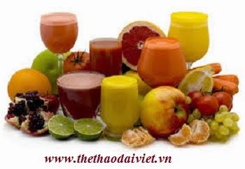 Các loại sinh tố giúp giảm cân hiệu quả
